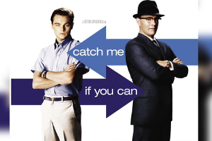 catch me if you can movie graphic
