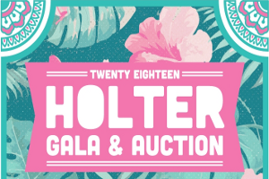 Flowers and words holter gala and auction