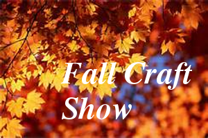 Leaves with words fall craft show