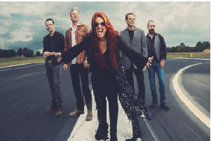 Wynonna and her band